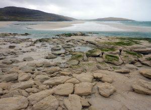 48 Seilebost sand boulders, Horgabost