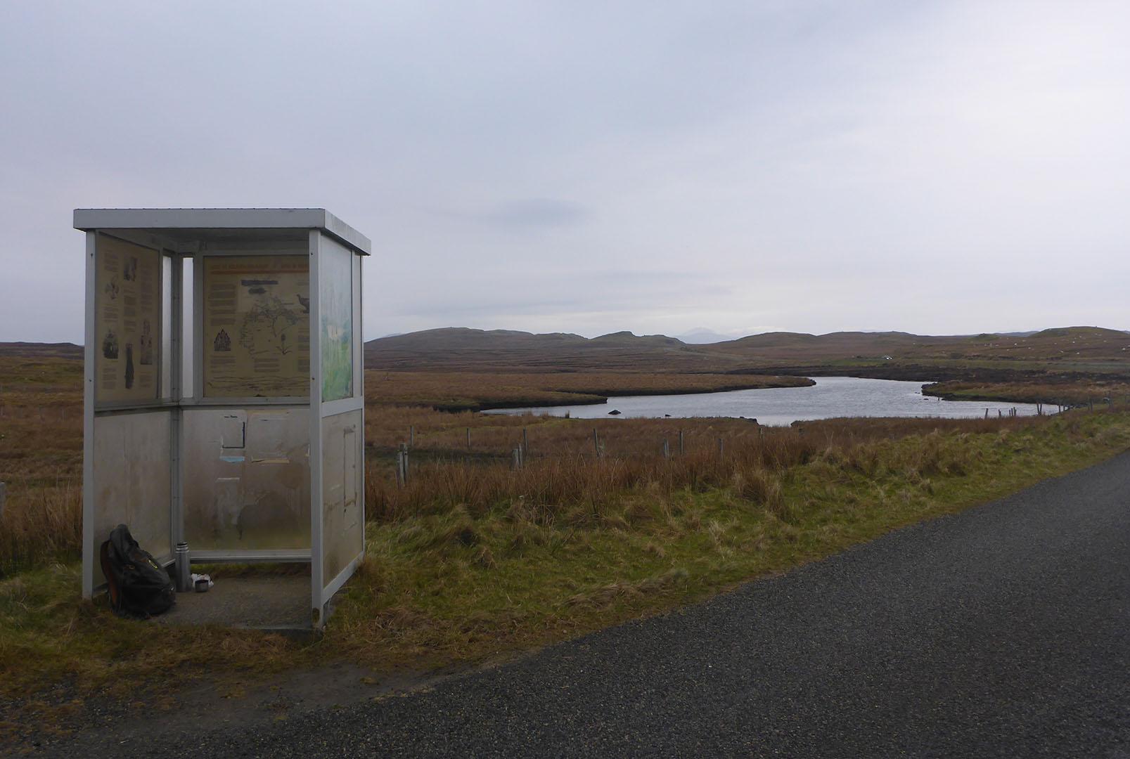 7 Bus stop Garynahine