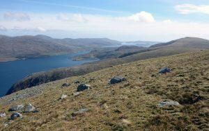 112 Loch a Siar from Beinn Dhub, Looking NE