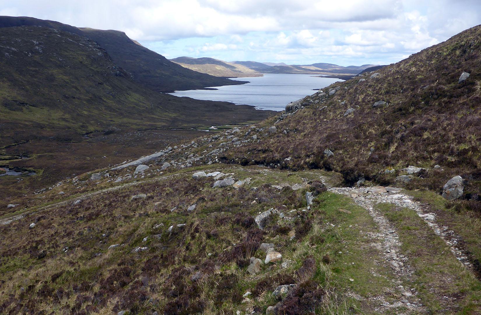 12 Loch Langabhat & pathway to Miavaig