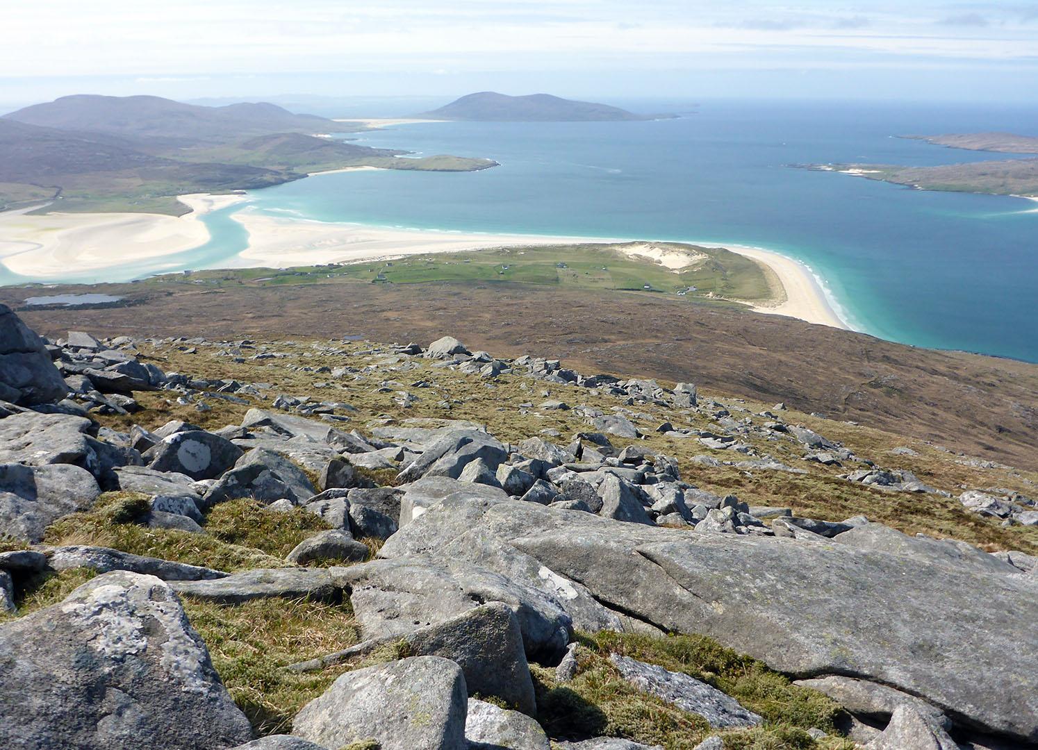 123 Beaches from Beinn Dubh
