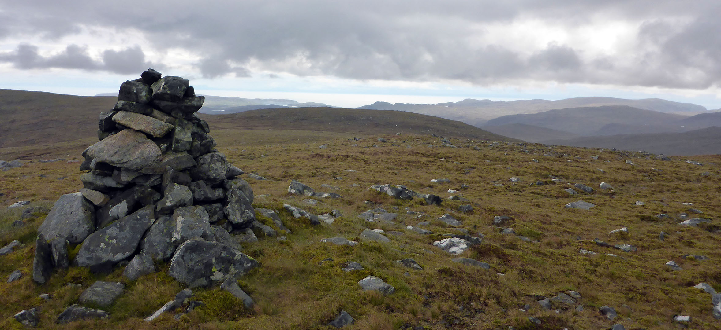 29 Cairn looking east