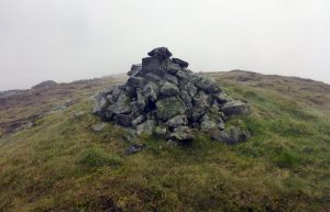 39 Cairn at head of Sleeping Beauty