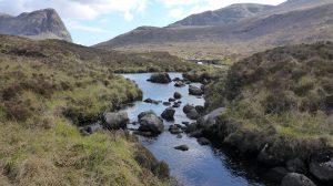 48 Stream between Lochan an Fheoir & Loch Bhoisimid