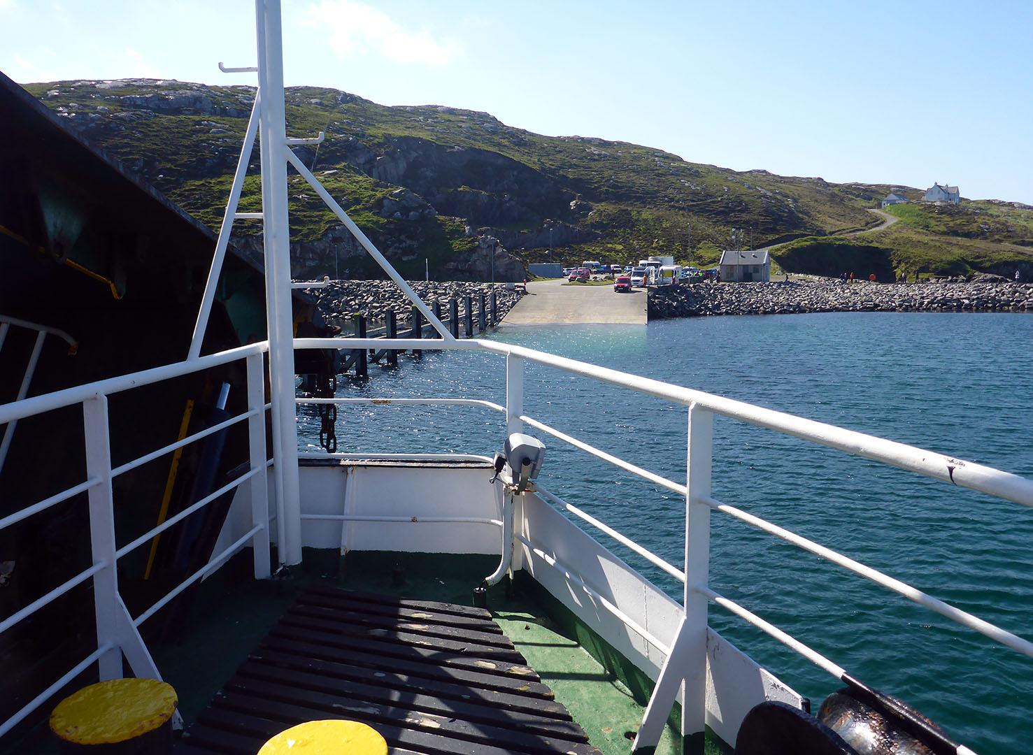 100 Ferry Barra to Eriskay