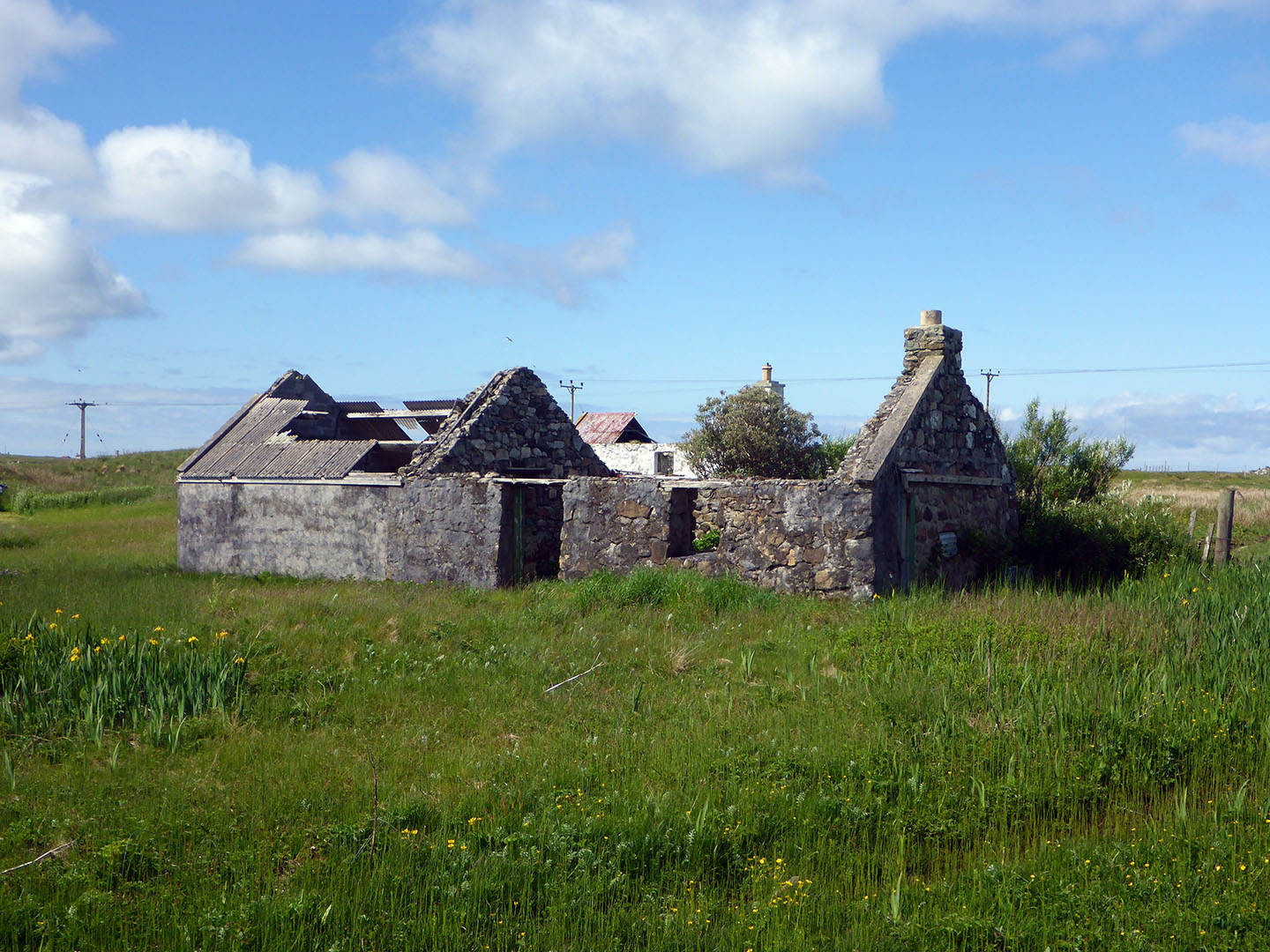 180 Ruined house Stilligarry