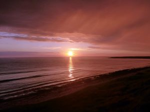 31 Sunset South Uist