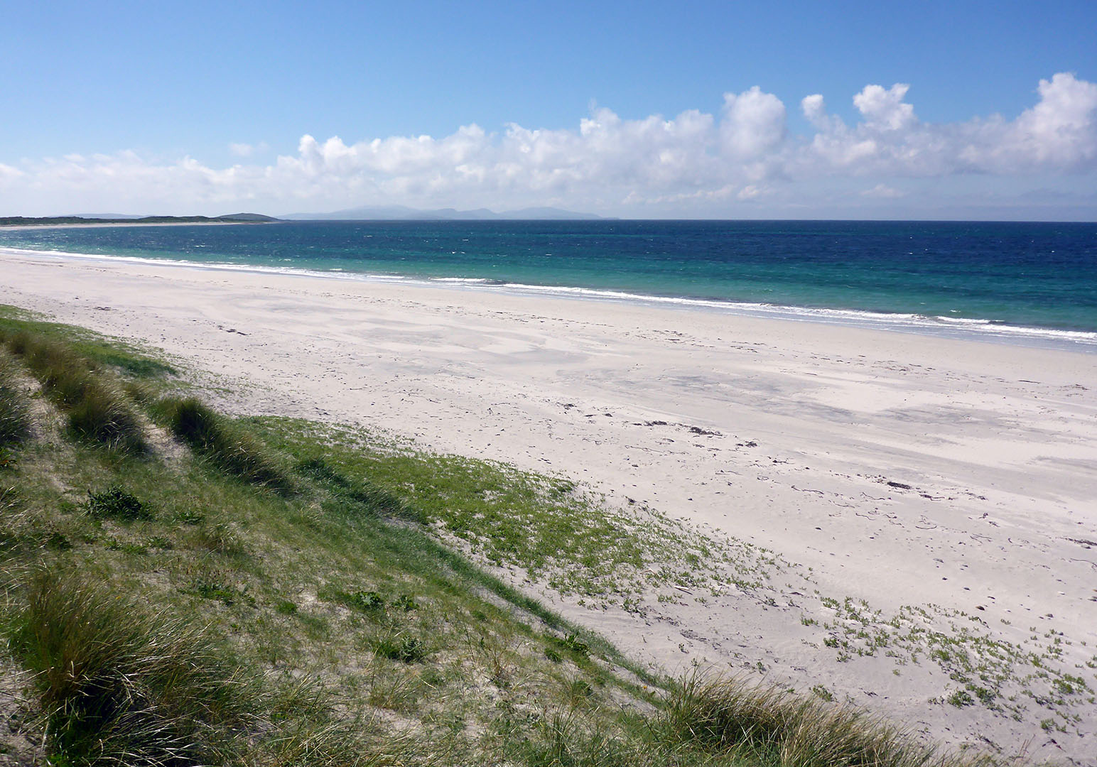 4 Beach at Daliburgh, Barra in distance