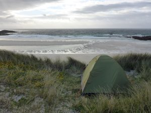 43 Tent last night Stir Beach