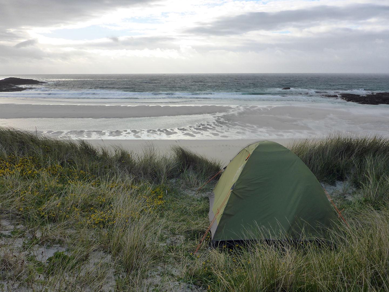 43 Tent last night Stir Beach
