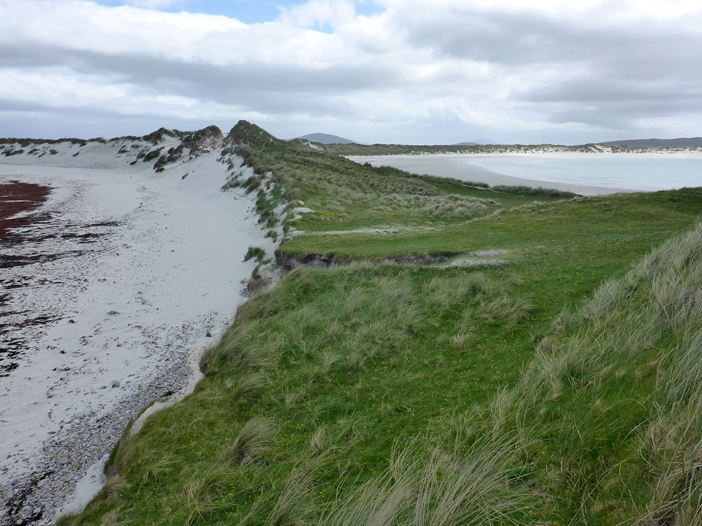 53 Udal peninsula with Traigh Ear & Traigh Iar