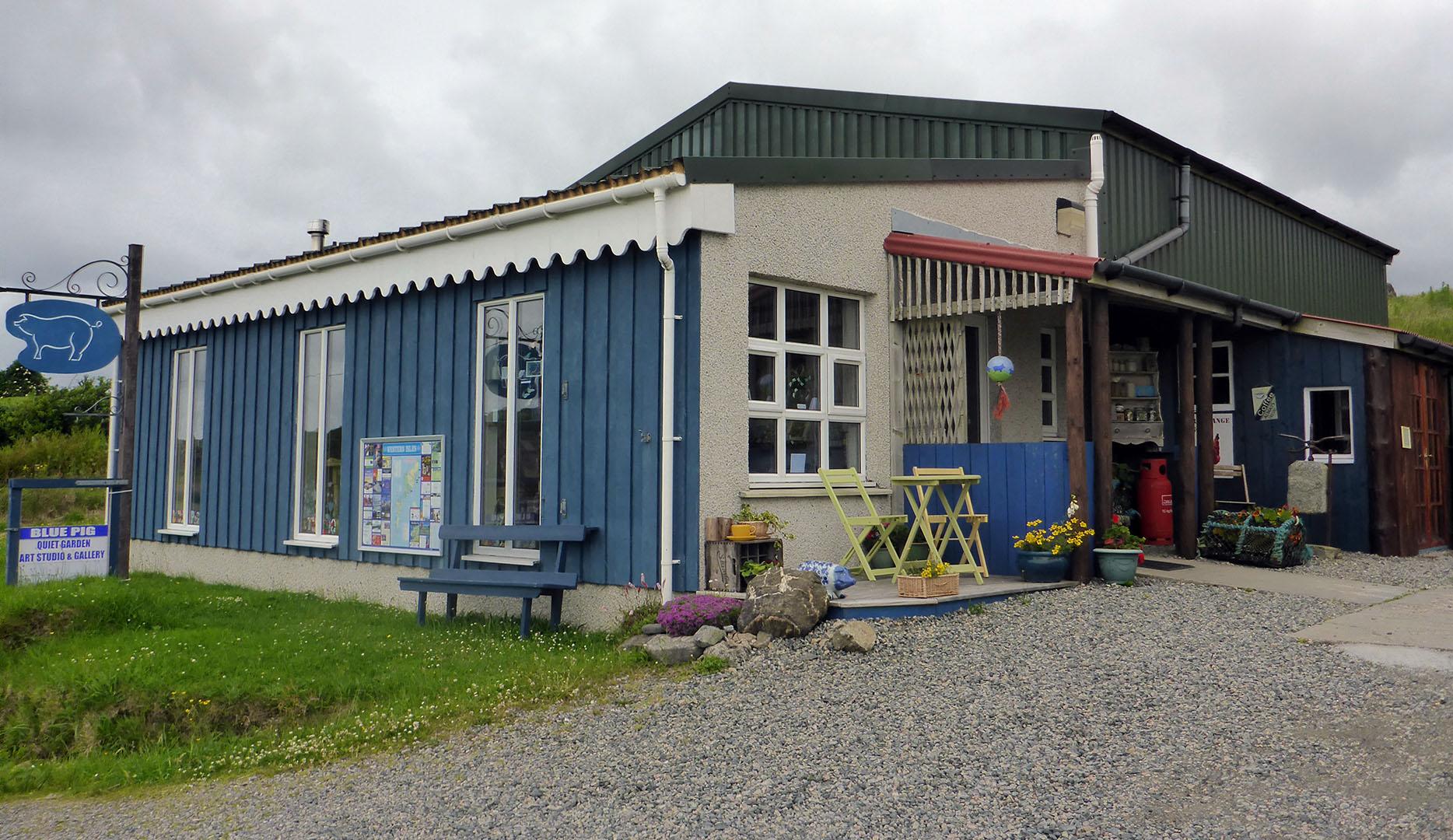 1 Blue Pig Gallery Carloway