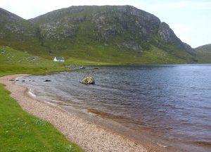 75 Crabhadail, Huiseabhal Beag in distance