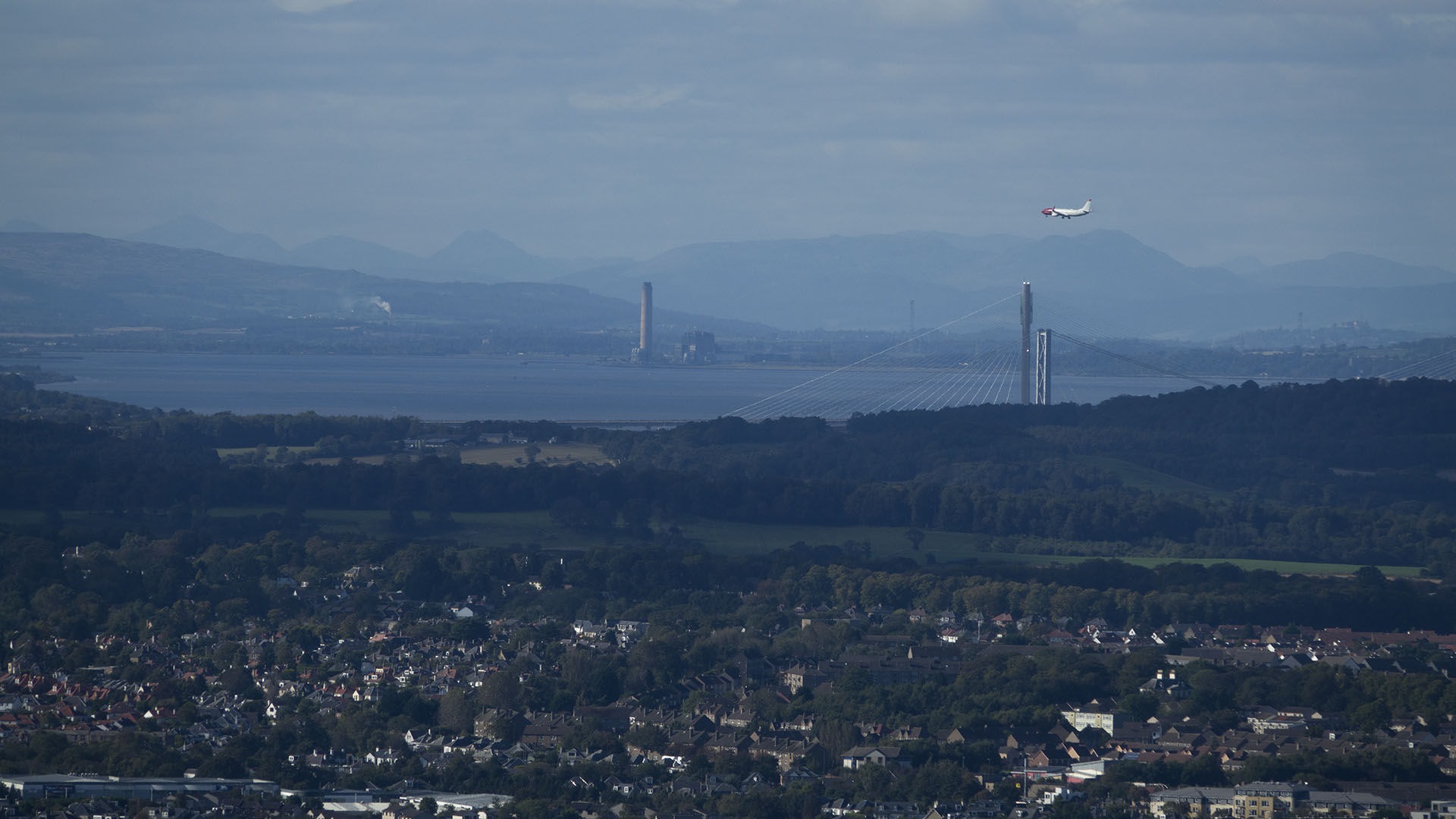 Forth view from summit
