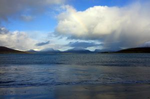 2 Horgabost looking NE to North Harris hills