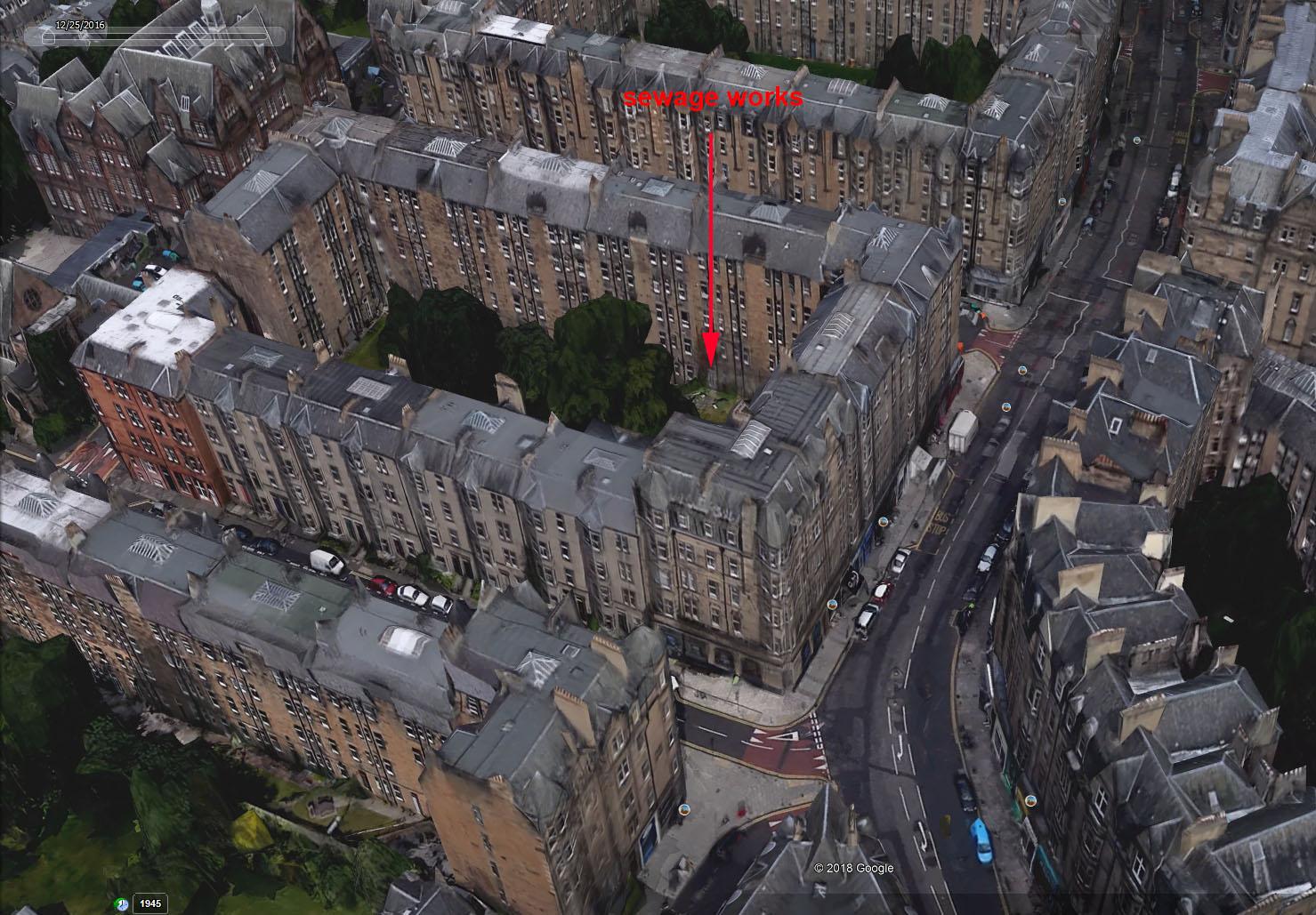 Bruntsfield Place Google Earth
