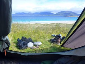 37 Luskentyre view from tent