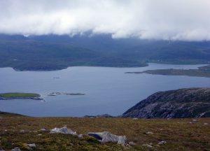 49 West Loch Tarbert from Beinn Dhubh