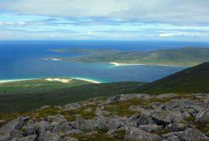 51 Taransay & dunes from Beinn Dhubh